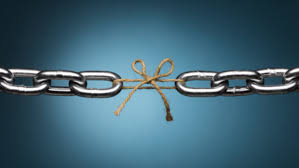 One weak link can break even the strongest chains – Achilees Heels